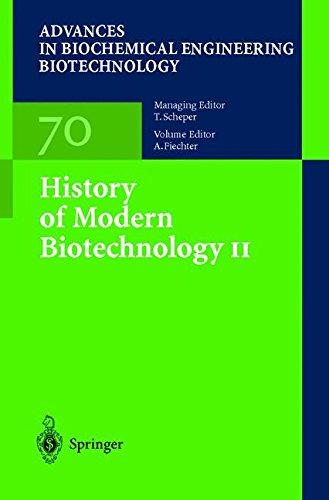 Download History of Modern Biotechnology II pdf epub
