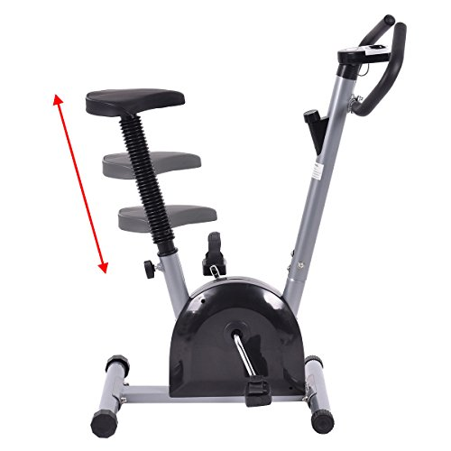 Goplus® Exercise Bike Cardio Fitness Gym Cycling Machine Gym Workout Training Stationary