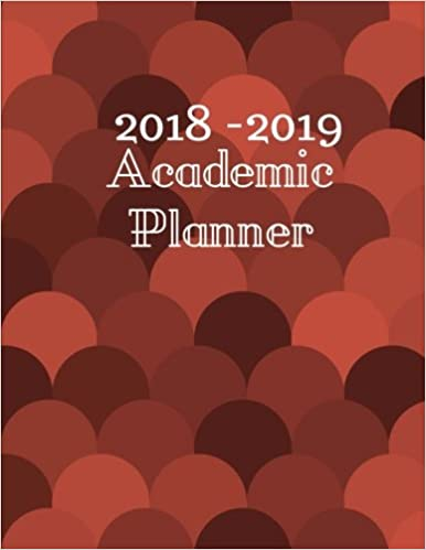 Amazoncom 2018 2019 Academic Planner August 2018 September 2019