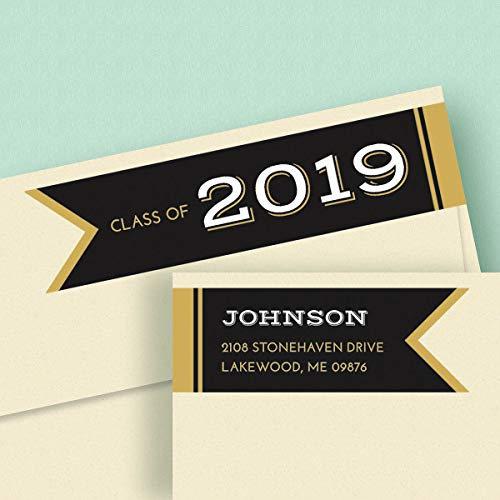 Graduation Day Address Labels - Graduation Day Connect Wrap Self-Adhesive, Flat-Sheet