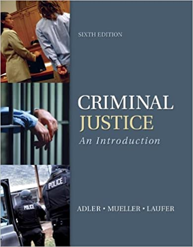 Amazon criminal justice an introduction 9780078026515 criminal justice an introduction 6th edition by freda adler fandeluxe Image collections