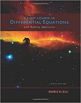 Buy A First Course in Differential Equations Book Online at Low Prices in India | A First Course in Differential Equations Reviews & Ratings - Amazon.in