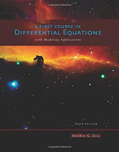 A First Course in Differential Equations with Modeling - Differential Diff