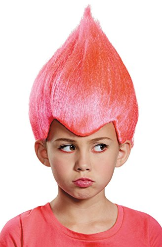 [Disguise Pink Wacky Child Wig, One Size Child, One Color] (Halloween Costumes With Pink Hair)