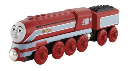 Wooden Thomas Tank Engine - Thomas the Tank Engine wooden rail series CAITLIN Caitlin Y5856 Fisher Price [ parallel import ]