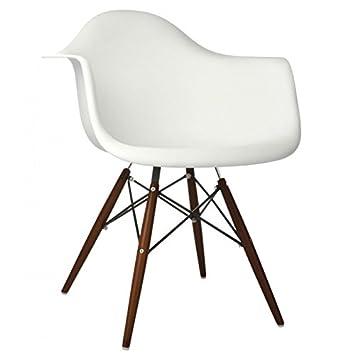 Peachy Amazon Com Emoderndecor Inc Ariel White Plastic Dining Cjindustries Chair Design For Home Cjindustriesco