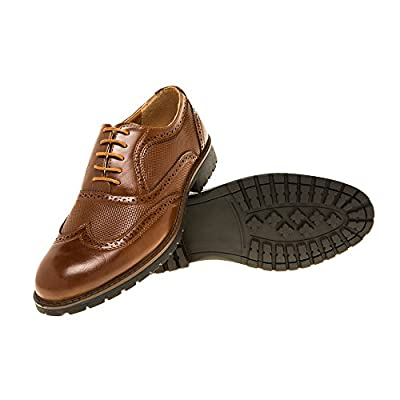 Premium Stylish Dress shoes British style ; Monk Strap ; Penny Loafer;Brogue Drop Tassel Slip-On Loafer Wing Tip Toe Oxford;Western Strap (Brown)