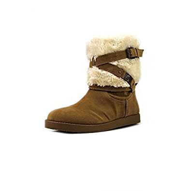 Amazon.com | G by Guess Alta Women's Shearling Winter
