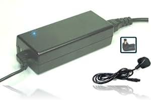 NUEVO - Adaptador de CA (incluye cable de alimentación española) Cargador de bateria compatible para ordenador portátil/ portátiles y netbooks el número de modelo: ASUS 344895 001 350221 001 40004489