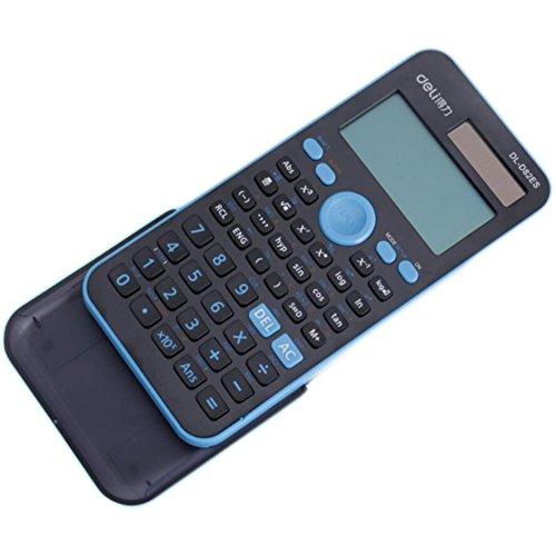 Solar Energy Dual Power Calculator OEM Scientific Calculator -Sky Blue