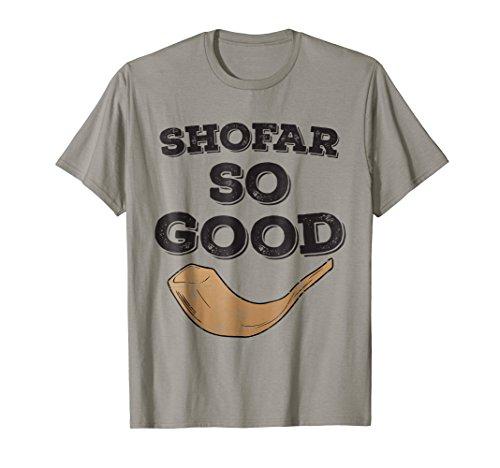 - Retro Shofar So Good Shirt Rosh Hashanah Challah Apple Honey