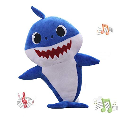 - Luckfind Baby Shark Official Singing Plush Song Doll, Adorable Plush Toy, Music Toy ,Singing English Song for Kids Gift Children Girl