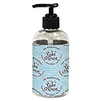 RNK Shops Lake House #2 Plastic Soap/Lotion Dispenser (8 oz - Small) (Personalized)