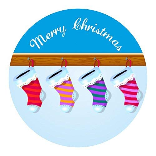 hiusan Personalised Christmas Labels - Stocking