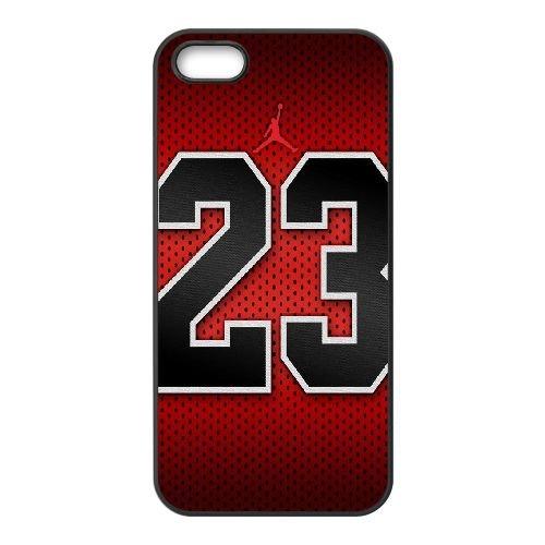 Jordan Logo 006 coque iPhone 5 5S cellulaire cas coque de téléphone cas téléphone cellulaire noir couvercle EOKXLLNCD24920