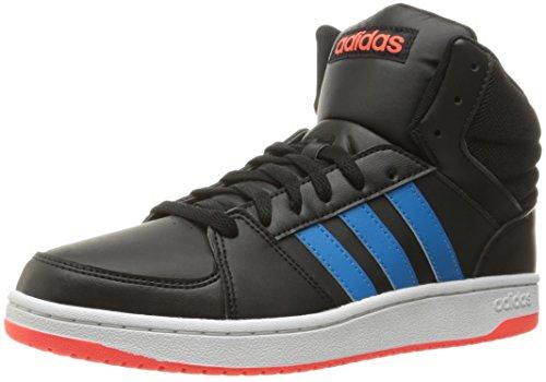 adidas Performance Herren Hoops Vs Mid Basketballschuhe Schwarz / Solarblau Infrarot