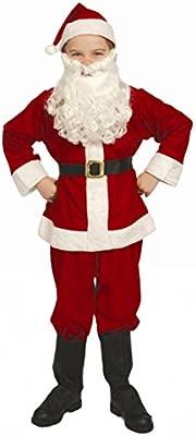 Amazon.com: Complete Santa Claus Suit Set Child Costume Size ...