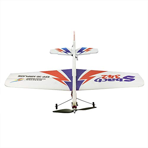 2019 Upgrade Radio Control 3D Electric Airplane Sbach 342 1000mm Wingspan 4CH EPP Foamy Aeroplane; Remote Controlled Aircraft Kit to Build for Adults (E1804)