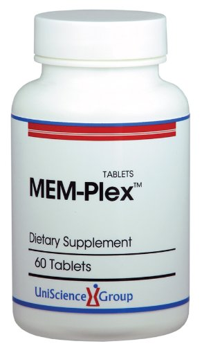 Mem-Plex, Brain Memory Supplement with Pantothenic Acid, 100 mg CDP Choline, Vitamin B & B12, Folic Acid, Rosemary, Ginger Extracts 60 Tablets Review