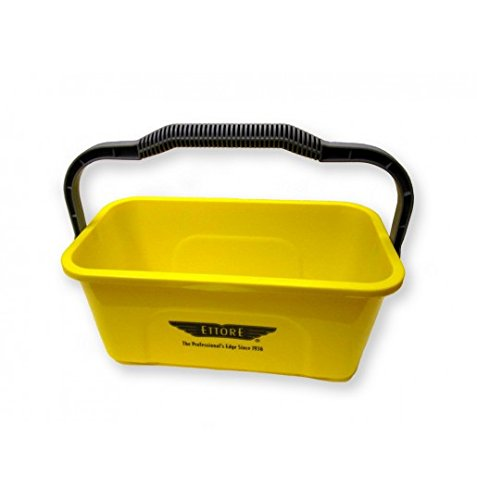 (Ettore 3 Gallon Compact Super Bucket with Ergonomic Handle)
