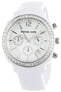 Michael Kors Women's MK5079 White Runway Watch
