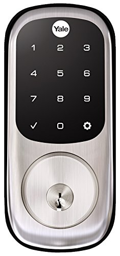 (Yale Assure Lock Touchscreen Deadbolt with ZigBee in Satin Nickel, YRD226HA2619, Works with Alexa, Samsung SmartThings, Iris and)
