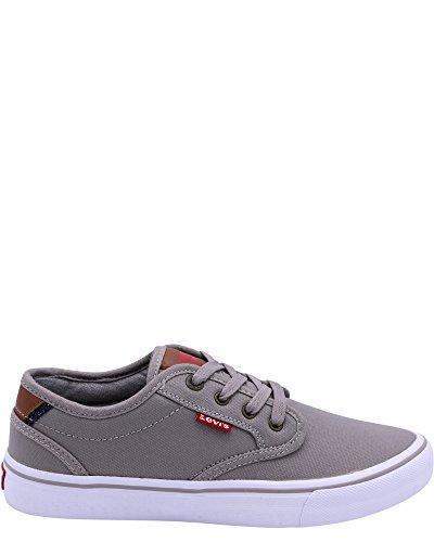 Levis Mens Cali Core Canvas Sneaker Grey uszqxGW
