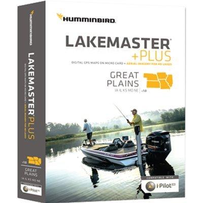 Humminbird Micro SD W/Adapter, Great Plains (Best Fishing In Northern Illinois)