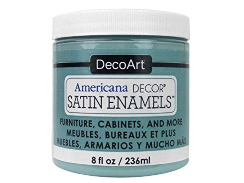 - DecoArt Décor Americana Decor Satin Enamels 8oz Sea Blue