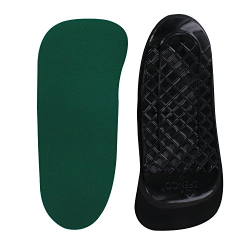Spenco Rx Orthotic Arch Support Full Length Shoe Insoles, Women's 11-12 / Men's (Orthotic Full Length Leather Shoe)