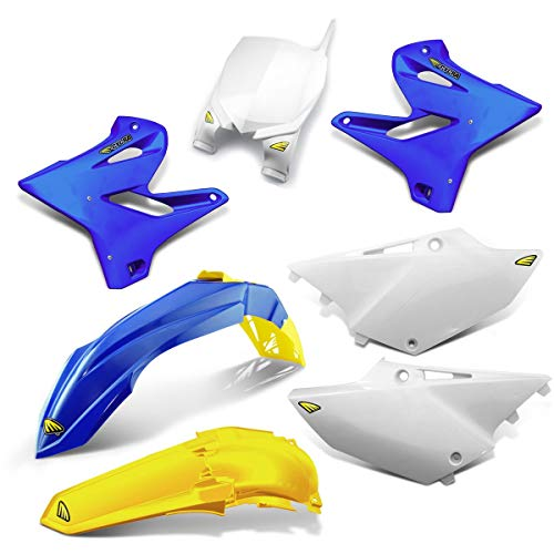 Cycra 15-19 Yamaha YZ250 Powerflow Plastic Kit (OEM/Lightning Gold)