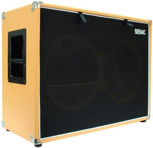 "Seismic Audio - 2x12 GUITAR SPEAKER CAB EMPTY - 7 Ply Birch - 12"" Speakerless Cabinet - 212"