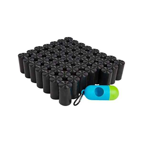 ShoppingLion 1040 Dog Poop Bags with Dispenser and Leash Clip, Guaranteed Leak-Proof, Extra Thick and Strong Poop Bags for Dogs, Pet Waste Bags Made with EPI Technology