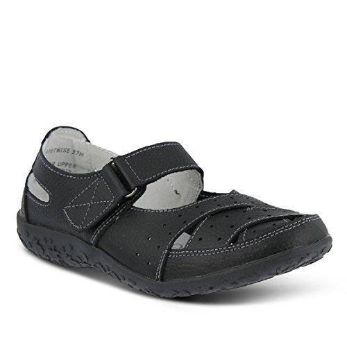 Lente Stap Dames Streetwise Instap Schoenen Zwart