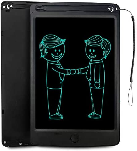 Message Board,LCD Writing Tablet 10.5 Inch Cartoon Color Handwriting LCD Handwriting Board Childrens Drawing Board Graffiti Board for Business,Home Message Board,Kid