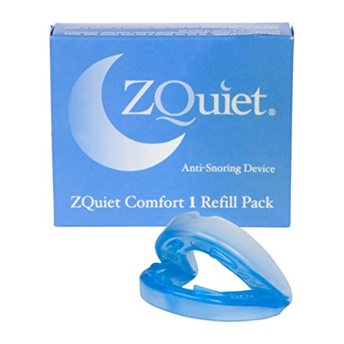 (ZQuiet® Comfort Size #1 Mouthpiece, Refill Only)