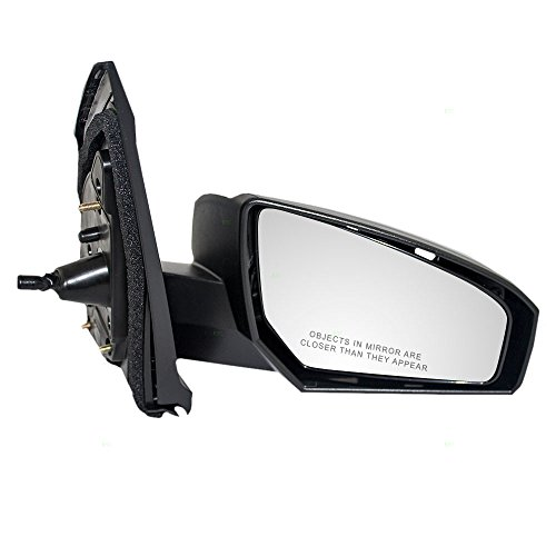Passengers Manual Remote Side View Mirror Replacement for Nissan 96301-ET00E