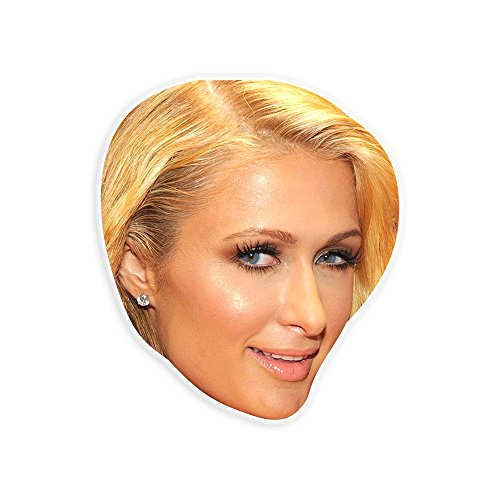 Paris Hilton Halloween Costumes (Sexy Paris Hilton Mask - Perfect for Halloween, Masquerade, Parties, Events, Festivals, Concerts - Jumbo Size Waterproof Laminated)