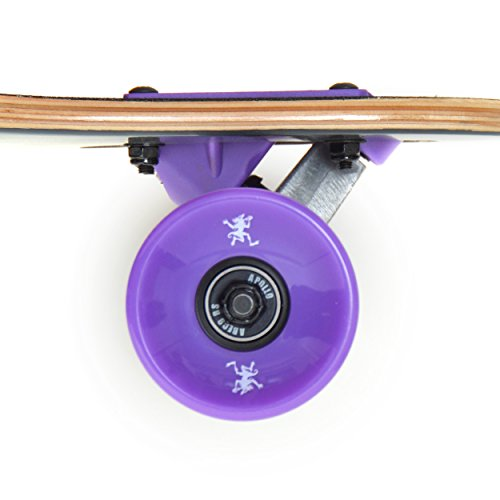 7 Layers APOLLO Longboard for Professionals and Beginners; Long Board for Kids Teens and Adults; Freeride Skateboard Cruiser and Downhill Longboards