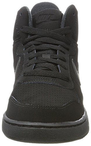 A Sneaker Nero Court Donna black Borough Alto Nike Collo Wmns Mid qAxff7