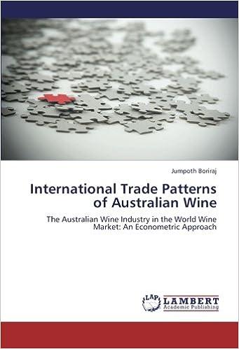 International Trade Patterns of Australian Wine: The Australian Wine Industry in the World Wine Market: An Econometric Approach