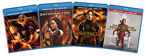The Hunger Games Complete Collection (The Hunger Games / Catching Fire / Mockingjay) (Part 1 & 2) -