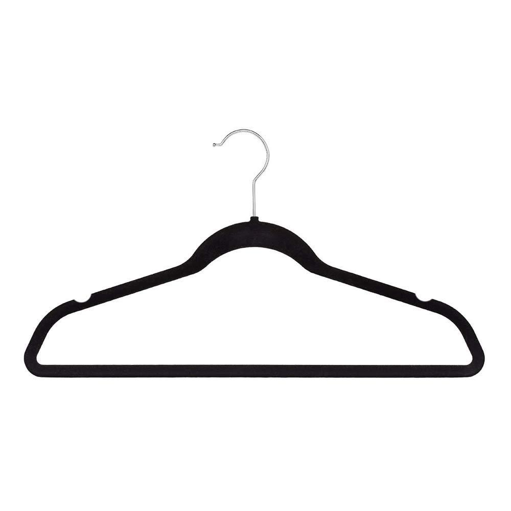 Home & Loft Velvet Non-Slip Hangers (140 Pack)