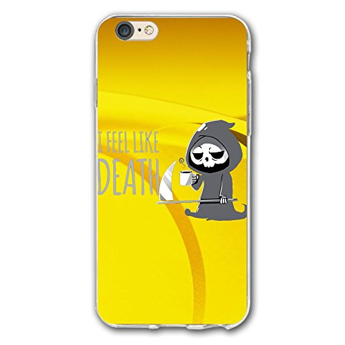 I Feel Like Death.PNGPhone Case For Iphone 6 PLUS/6S PLUS(5.5inch)art Design Phone Case (Halloween Date Uk)