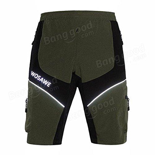 PhilMat Wosawe extérieur shorts équitation multifonctionnel anti-éclaboussures shorts de loisirs