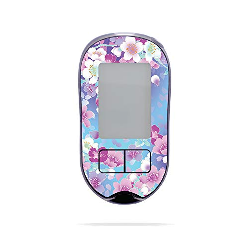 MightySkins Skin Compatible with Accu-Chek Aviva Plus - in Bloom   Protective, Durable, and Unique Vinyl Decal wrap Cover   Easy to Apply, Remove, and Change Styles   Made in The USA