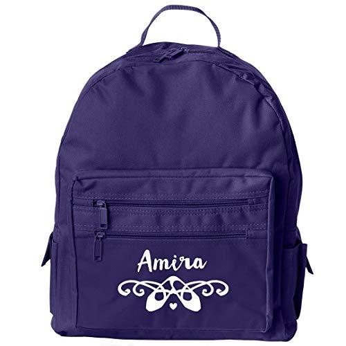 Cute Ballet Dancer Girl Amira: Liberty Bags Backpack