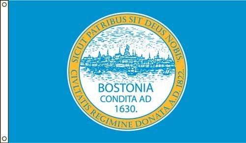 Boston 2ft. X 3ft. Nylon Flag