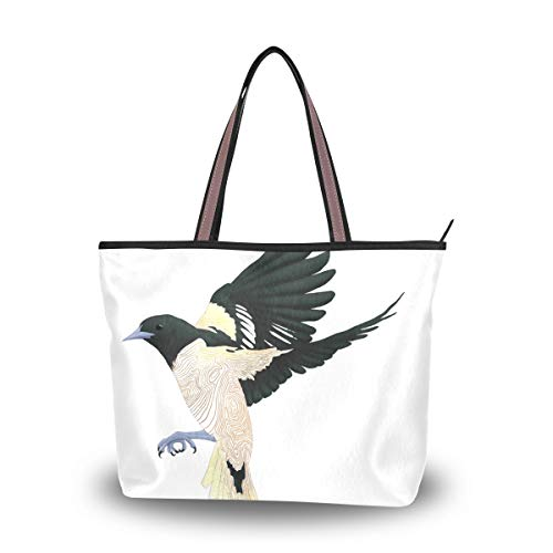 Tote Bag With Funny Bird...