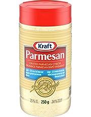 Kraft Grated Parmesan Cheese - Light, 250g Shaker